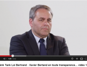 XAVIER BERTRAND SUR LE SUNSHINE ACT VIDEO 1