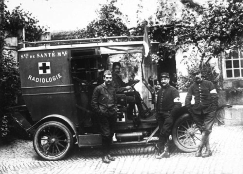 RADIOLOGIE 1914