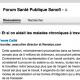 FSP Forum santé publique sanofi LSFSP 1