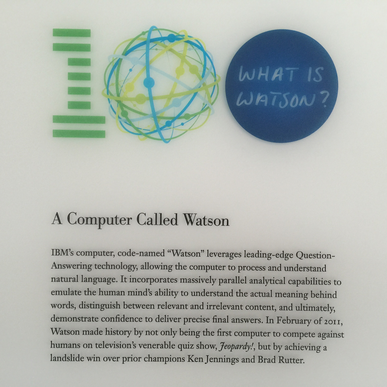 Centre de recherche IBM - WATSON  - SAN JOSE  esanté