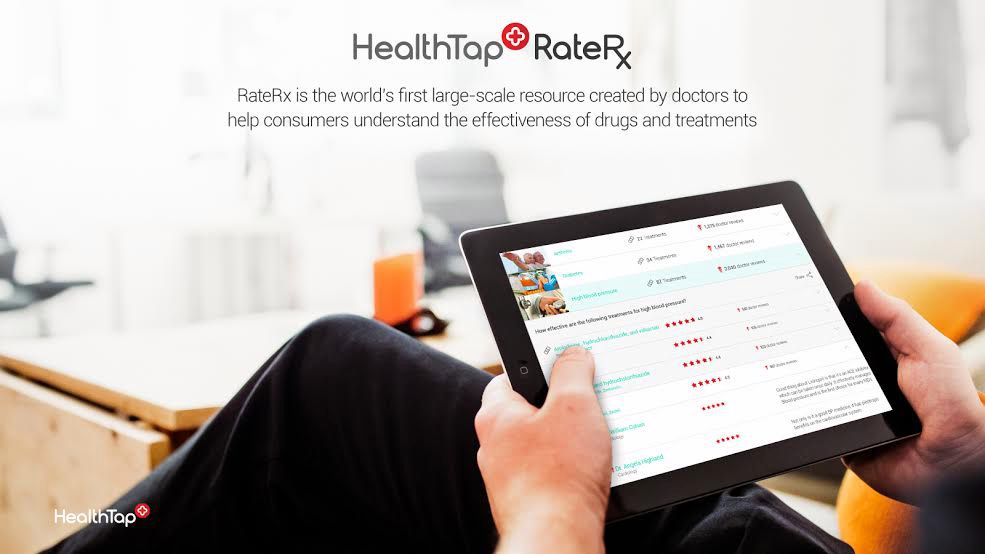 HealthTap - RateRx - solution eSantéed4