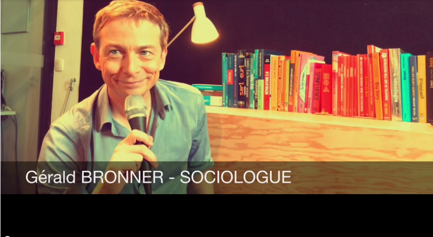 JTCV - Rencontre avec G. Bronner - JUIN 2015