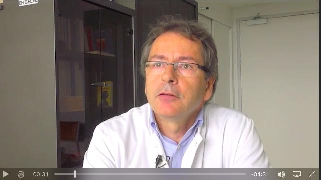 Dr François Rouanet, neurologue au C.H.U. de Bordeaux