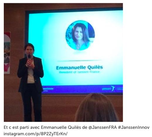 Emmanuelle Quilés - Présidente de Janssen France