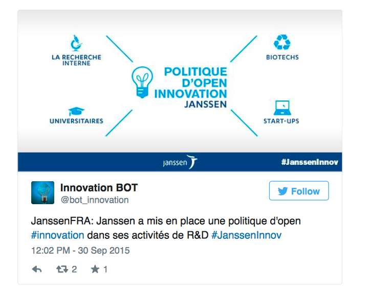 Politique d'Open Innovation de Janssen