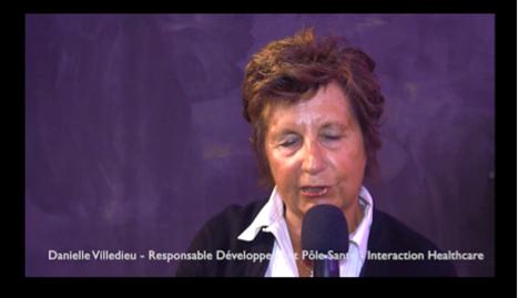 Danielle VILLEDIEU, responsable développement du pôle santé d'Interaction Healthcare