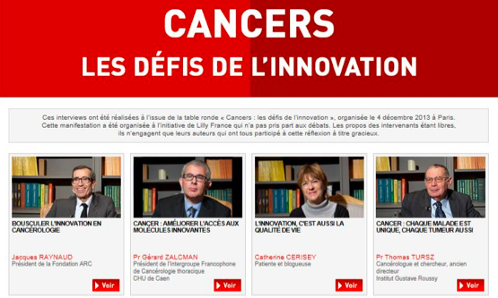 Cancer - Innovation incrémentale