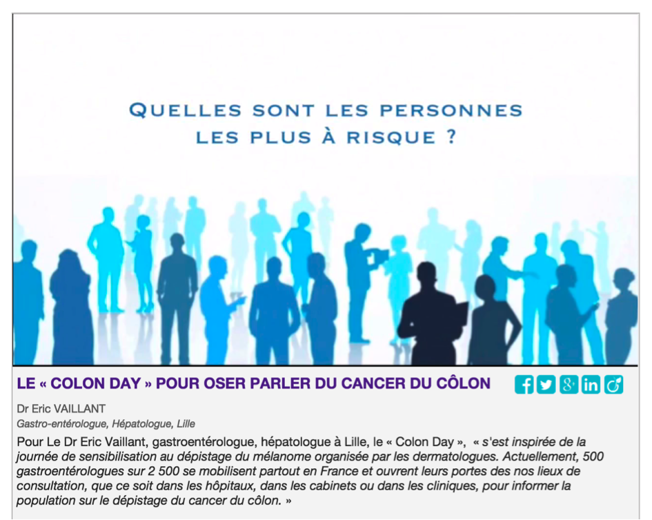 7 Relais Bleu Merck Cancer colorectal depistage