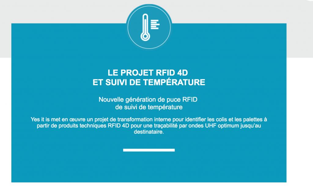 Yesitis digitalCSP rfID 4D température médicament